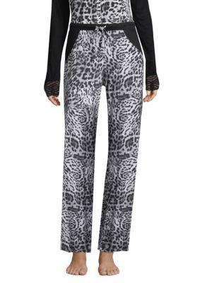 Cosabella Printed Wide-leg Pants