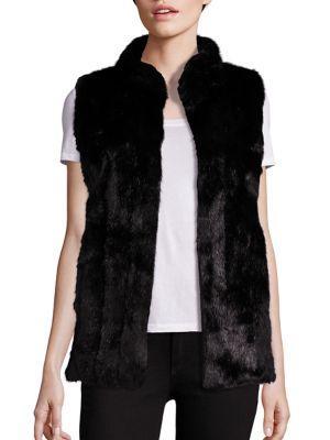 Fabulous Furs Signature Faux-fur Hook Vest