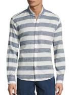 Solid And Striped Striped Button-down Shirt