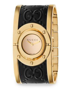 Gucci Twirl Guccissima Bangle Watch