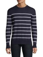 Eleventy Striped Roundneck Sweater