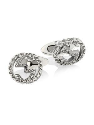 Gucci Interlocking Cuff Links