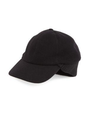 Saks Fifth Avenue Collection Roller Knit Baseball Cap