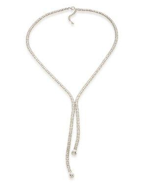 Abs By Allen Schwartz Jewelry Faceted Lariat Necklace