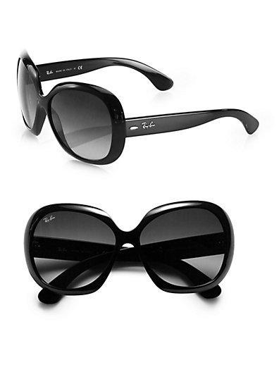 Ray-ban Vintage Oversized Round Jackie Ohh Sunglasses