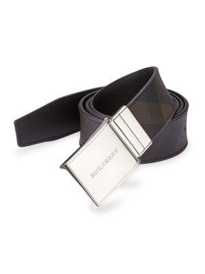 Burberry Reversible Signature Plaid Belt
