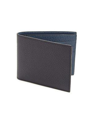 Saks Fifth Avenue Collection Bi-fold Leather Wallet