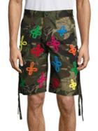 Haculla Tecknikolor Camouflage Shorts