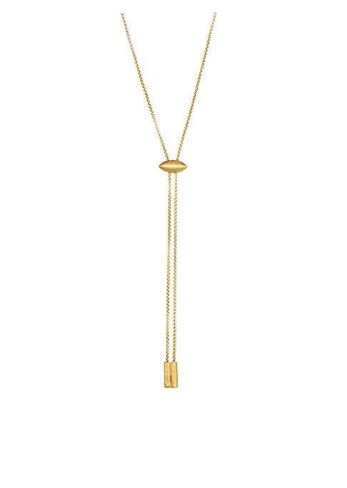 Dean Davidson Taj 22k Goldplated Bolo Necklace