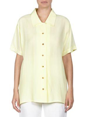 Acne Studios Rellah Sheer Bowling Top