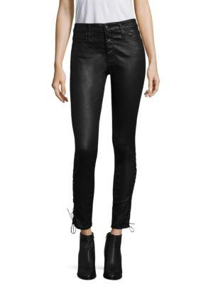 Ag Leatherette Skinny Jeans