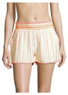 Tessora Livie Embroidered Shorts