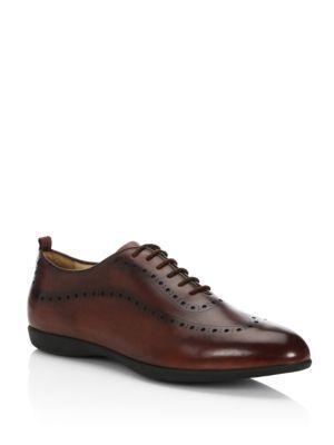 Sutor Mantellassi Walsh Hybrid Leather Low Top Sneakers