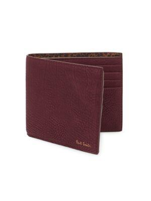 Paul Smith Textured Leather Bi-fold Wallet