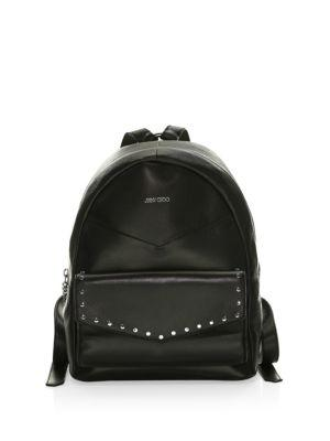 Jimmy Choo Cassie Leather Backpack