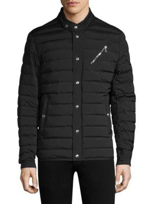 Moncler Quilted Snapped Jacket