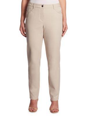 Basler, Plus Size Julienne Slim-fit Jeans