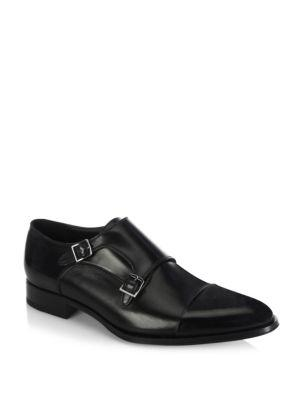 To Boot New York Double-buckle Monk-strap Loafers