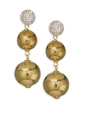 Kate Spade New York Flying Colors Crystal Bauble Earrings