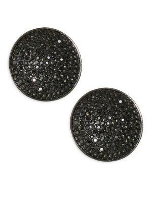 Nest Pave Stud Earrings