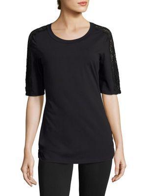 Cosabella Sonia Short-sleeve Pajama Top
