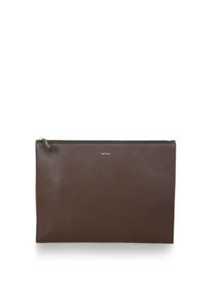 Paul Smith Leather Document Pouch