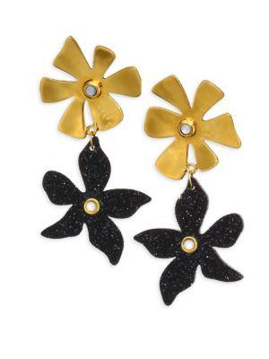 Lizzie Fortunato Dona Earrings