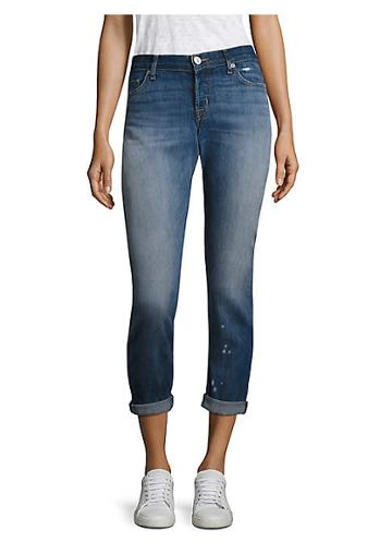Hudson Jeans Riley Relaxed Cropped Straight-leg Jean
