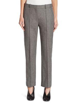 Victoria, Victoria Beckham Wool & Cashmere Striped Pants
