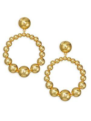Kate Spade New York Goldtone Hoop Earrings