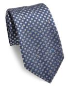 Isaia Dot Patterned Tie