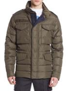 Moncler Quilted Long Sleeve Jacket