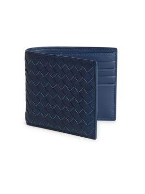 Bottega Veneta Leather Woven Wallet