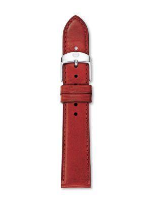 Michele Watches Leather Watch Strap