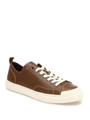Coach Low Top Leather Sneakers