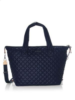 Mz Wallace Sutton Quilted Nylon Tote
