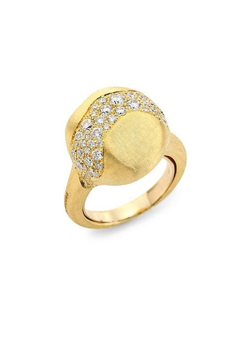 Marco Bicego Africa Diamond & 18k Yellow Gold Ring