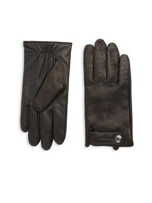 Mackage Snap Leather Gloves