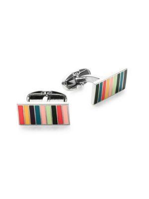 Paul Smith Multicolor Linear Cuff Links