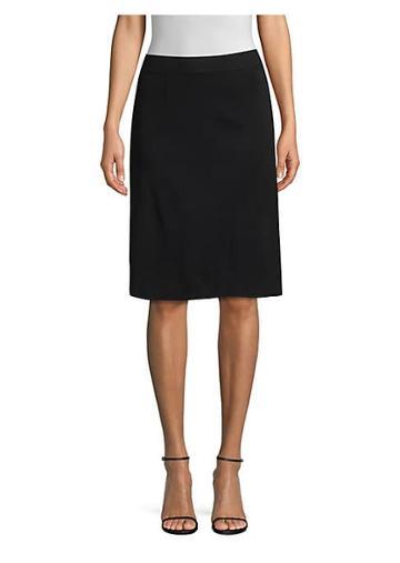 Misook Knit Knee-length Skirt