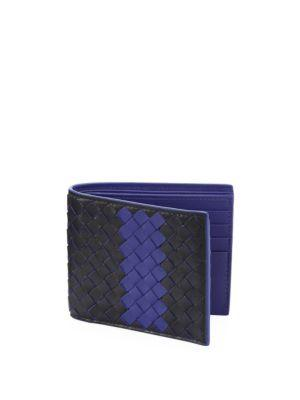 Bottega Veneta Woven Leather Bifold Wallet
