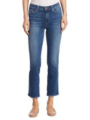Paige Jacqueline Straight Jeans