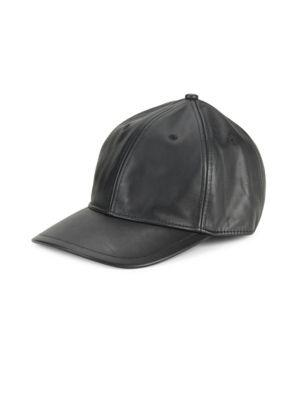 Rag & Bone Smooth Leather Baseball Cap