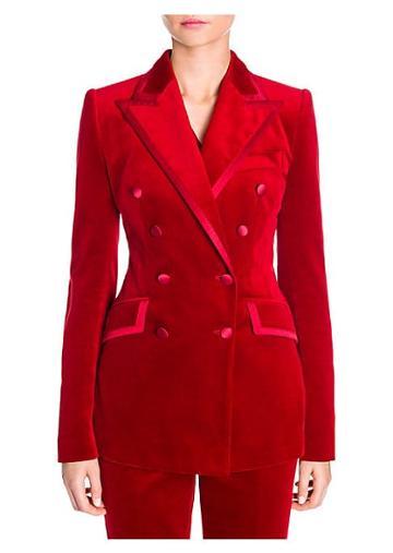Dolce & Gabbana Velvet Double-breasted Jacket