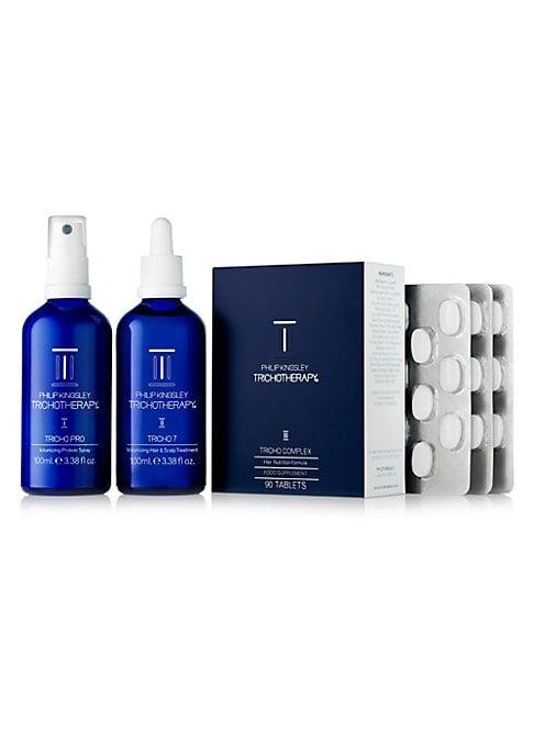 Philip Kingsley Trichotherapy The Ultimate Hair & Scalp Regime Three-piece Set