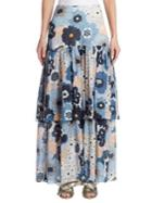 Chloe Floral Layered Skirt