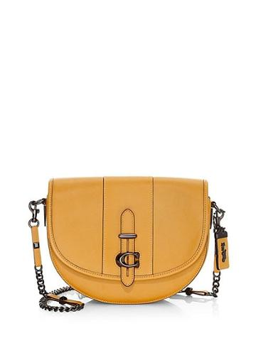 Coach Coach 1941 Glovetanned Leather Saddle Bag