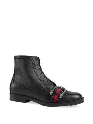 Gucci Beyond Tag Leather Boots