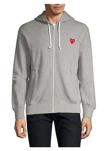 Comme Des Garcons Play Play Heart Hoodie