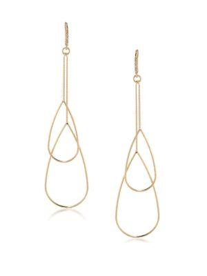 Abs By Allen Schwartz Jewelry Venice Beach Double Teardrop Earrings